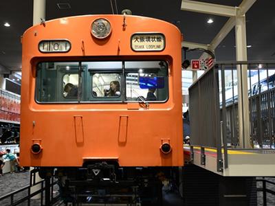 京都鉄道博物館の101系