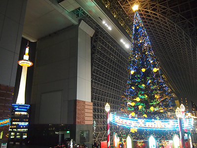 京都駅クリスマス